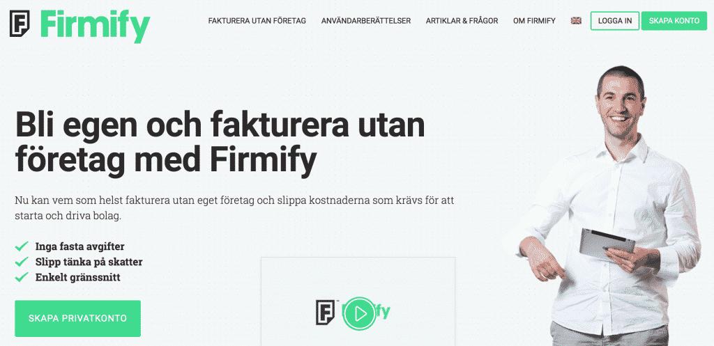 fakturera med Firmify